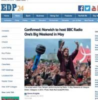 EDP report Big Weekend